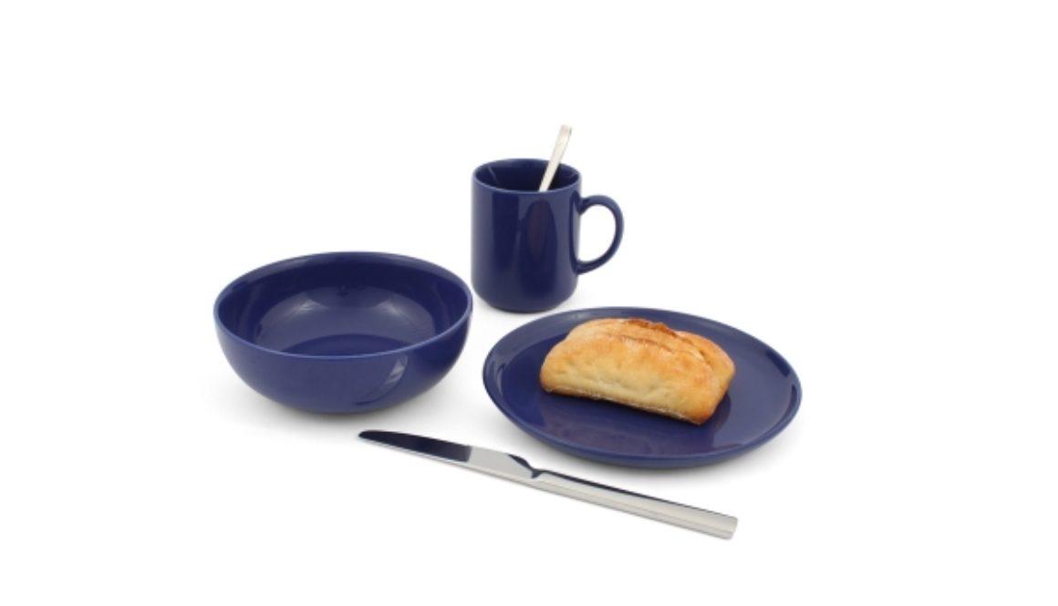 Friesland Frühstücks-Set 3tlg. Happymix Blau